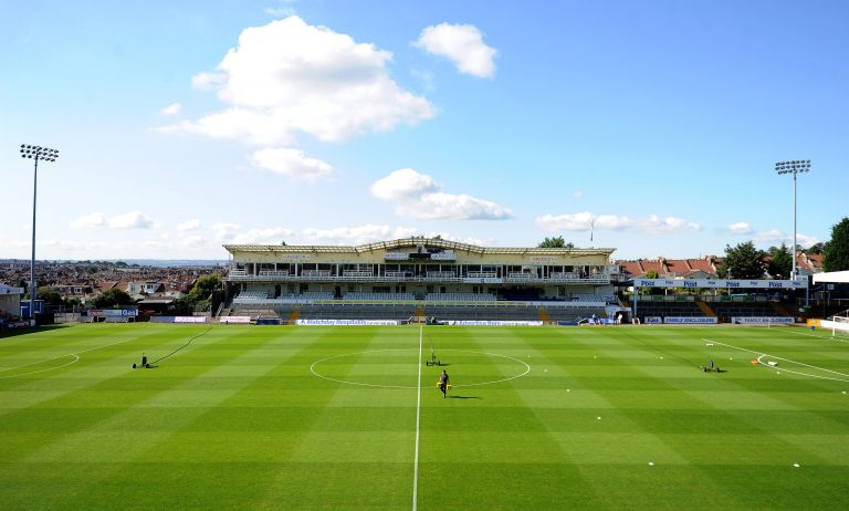 BRISTOL, ENGLAND - SEPTEMBER 06:General view of the Memorial Stadium prior to kick off in the Sky Bet League Two between Bristol Rovers and Oxford United at Memorial Stadium on September 6, 2015 in Bristol, England.  (Photo by Harry Trump/Getty Images)
