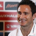 HERTFORD, ENGLAND - NOVEMBER 14: Englands Frank Lampard faces the media during an England press conference at the Grove hotel, ahead of their International Friendly with Chile on November 14, 2013 in Hertford, England. (Photo by Charlie Crowhurst/Getty Images)
