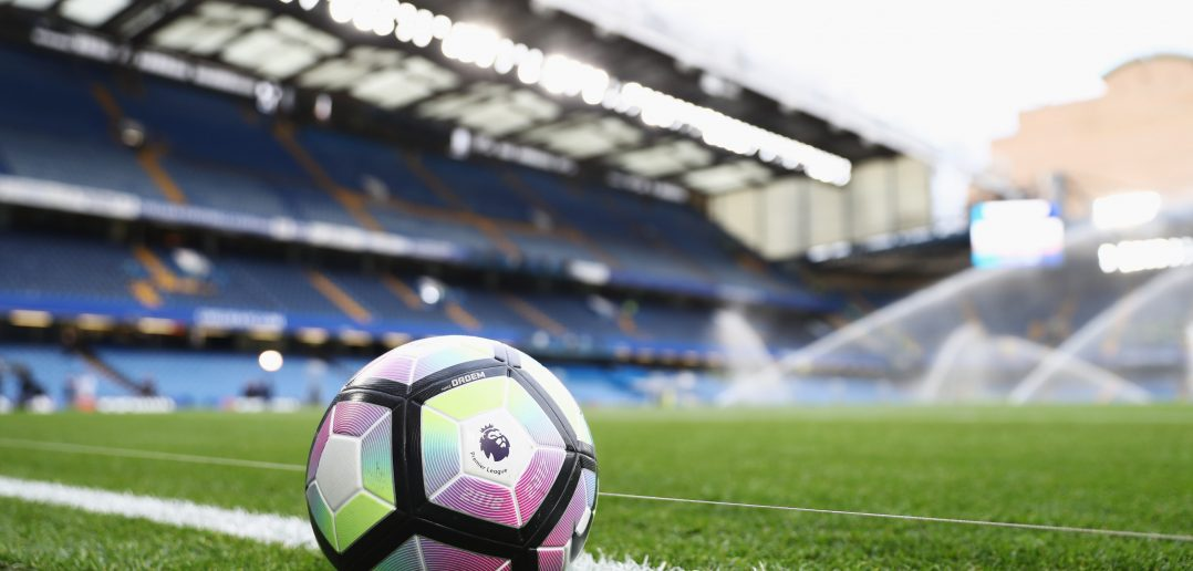 LONDON, ENGLAND - SEPTEMBER 16:  a match ball sit pitchside prior to the Premier League match between Chelsea and Liverpool at Stamford Bridge on September 16, 2016 in London, England.  (Photo by Clive Rose/Getty Images)