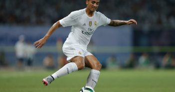 SHANGHAI, CHINA - JULY 30:  Danilo of Real Madrid in action during the International Champions Cup match between Real Madrid and AC Milan at Shanghai Stadium on July 30, 2015 in Shanghai, China.  (Photo by Lintao Zhang/Getty Images)
