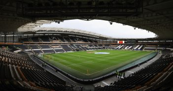 HULL, ENGLAND - FEBRUARY 25:  A general view inside the stadium prior to the Premier League match between Hull City and Burnley at KCOM Stadium on February 25, 2017 in Hull, England.  (Photo by Mark Robinson/Getty Images)