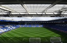 LEICESTER, ENGLAND - APRIL 01:  General view inside the stadium prior to the Premier League match between Leicester City and Stoke City at The King Power Stadium on April 1, 2017 in Leicester, England.  (Photo by Michael Regan/Getty Images)