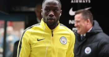 MIDDLESBROUGH, ENGLAND - MARCH 11:  Bacary Sagna of Manchester City arrives at the stadium ahead of The Emirates FA Cup Quarter-Final match between Middlesbrough and Manchester City at Riverside Stadium on March 11, 2017 in Middlesbrough, England.  (Photo by Ian MacNicol/Getty Images)