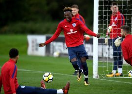 England ace Abraham aiming to fulfil Chelsea first team dream