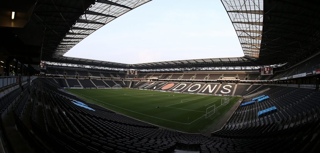 MILTON KEYNES, ENGLAND - SEPTEMBER 26:A general view of StadiumMK prior to the Sky Bet League One match between Milton Keynes Dons and Northampton Town at StadiumMK on September 26, 2017 in Milton Keynes, England.  (Photo by Pete Norton/Getty Images)