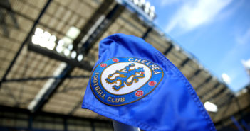 LONDON, ENGLAND - AUGUST 31: Detailed shot of the corner flag prior to the Premier League match between Chelsea FC and Sheffield United at Stamford Bridge on August 31, 2019 in London, United Kingdom. (Photo by Warren Little/Getty Images)